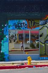 Documenting The St. Art - Selfie (Joey Z1) Tags: streetart mirror urbanart paintedbuilding brickbuilding vividcolors urbanscene selfinmirror lastreetart lalife colorsofthestreet urbanartlosangeles colorsofla bylaphotolaureatejoeyzanotti artofbesto artbyandrew