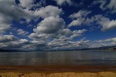 Lake Tahoe (www.EyePics.net) Tags: california usa lake nature water colors clouds landscape landscapes wideangle laketahoe bluesky manual dynamicrange gaurav southlaketahoe waterscape goldensand manualexposure tokina116atx nikond7000 gauravkavathekar wwweyepicsnet