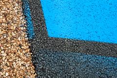 Overspray (Jez B) Tags: le mans 24 24h hour race endurance world championship wec circuit de la sarthe france french car auto racing motor sport motorsport aoc automobile club louest 2016 overspray blue gravel tarmac asphalt track paint dunlop chicane
