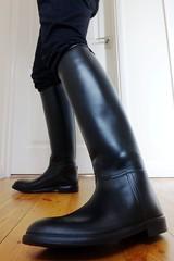 Riding Boots Wednesday (essex_mud_explorer) Tags: start boots riding gummistiefel aigle ridingboots rubberlaarzen rubberridingboots reitstiefel bottesdquitation aiglestart