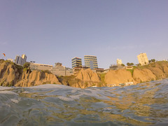 Lima from the Ocean (Geraint Rowland Photography) Tags: ocean sea sky seaside movement surf lima pacificocean swell miraflores gopro goprohero wafter southamericantravel surfinginperu lacrimal travelinperu geraintrowlandphotography visitlima goprophotographygeraintrowland limaphotographybygeraintrowland goproperu districtsoflima