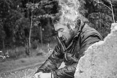 (Jonhatan Photography) Tags: chile portrait me canon smoke explorer 7d bnw