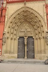 Wrzburg: Marienkapelle Doorway (lazzo51) Tags: germany travels wrzburg marienkapelle
