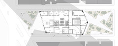 Ground_Floor_Plan_23.5X60 (CSondi) Tags: new york city newyork tower architecture skyscraper studio design high d christopher super center architectural institute architect thesis highrise lincoln tall rise prattinstitute pratt sondi