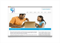 Logistics Service - Website Design & Development by Litmus Branding (litmusbranding.com) Tags: websitedesign websitedevelopment