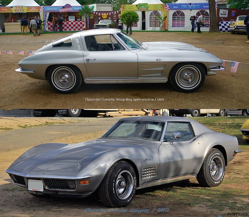 Chevrolet Corvette Sting-Ray & Stingray