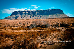 close encounters (Dave G Kelly) Tags: ireland irish cliff mountain nature canon landscape outdoors landscapes photographer erosion geology ravines sligo benbulben cosligo davegkelly canoneos5dmark2 copyright2013davegkelly