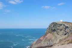 Coastal Watch (Jemma Boucher) Tags: sea coastguard coast cornwall cliffs boscastle