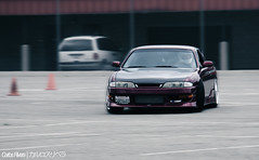S14 Drift (Shoot_LA) Tags: california nissan fontana intercooler drift s14 driftcar californiaspeedway zenki driftlife autoclubspeedway driftmissile driftstance