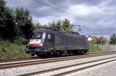 182 598  tigheim  29.08.09 (w. + h. brutzer) Tags: analog train germany deutschland nikon eisenbahn railway zug trains locomotive taurus lokomotive 182 elok eisenbahnen mrce dispolok eloks es64u2 tigheim webru