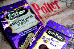 Sweet Treats (latentshutterbug) Tags: purple candy harrypotter chocolatefrog bertiebottseveryflavorbeans harrypottertheexhibition