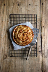 tartefine004 (la cerise sur le gteau) Tags: food cooking apple pie dessert photography baking tasty pommes delicious patisserie pastry tart tarte