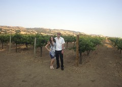 gugliemo winery (btwimjordan) Tags: california wedding me nature lens outdoors photography vineyard dress view wine outdoor wide siblings hills bluewhite beautifulview iphone morganhill freepeople fpme photojojo gugliemo longhairdontcare photojojowide