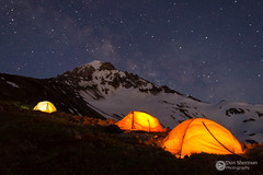 McNeil Point (Dan Sherman) Tags: nightphotography light night oregon dark stars tents unitedstates tent alpine mthood pacificnorthwest mounthood milkyway timberline mcneilpoint mounthoodnationalforest mthoodnationalforest mounthoodparkdale