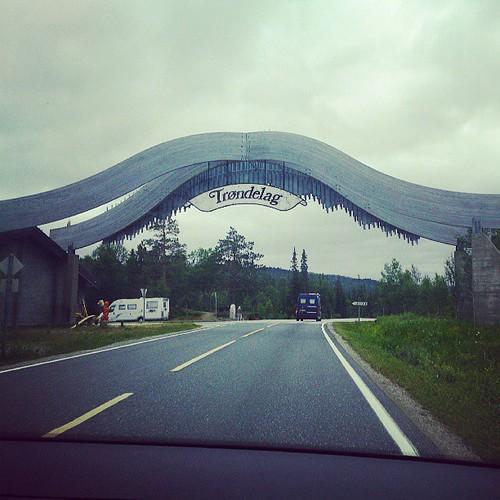 Da er vi på vei hjemover:)Skal bli godt og komme hjem og treffe gullungene!