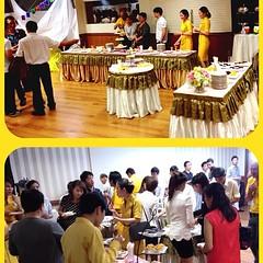 บรรยากาศงานติดปีกพนักงานต้อนรับบนเครื่อง นกแอร์ รุ่น18 by Gifted Catering รับจัดเลี้ยงบุฟเฟ่ต์ รับจัดเลี้ยงค๊อกเทล อาหารว่าง อาหารกล่อง http://www.giftedcatering.com
