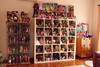 re arranging (girl enchanted) Tags: white ikea vintage toy toys starwars doll dolls bears books bookshelf disney shelf collection barbies collectible cabbagepatchkids strawberryshortcake mattel cpk toyroom expedit blythes dollyroom