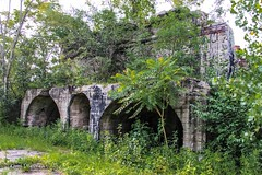 overgrown coke ovens (Kamil Dziedzina Photos) Tags: old abandoned ruins decay urbanexploration weathered decomposition apocalyptic urbex deterioration humanvsnature lifeafterpeople abandonedamerica urbexphotography ruinporn urbexusa americanurbex