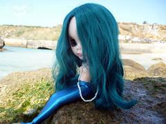 mermaid in dry land