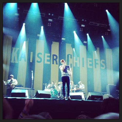 Thank you @kaiserchiefs! that was an amazing performance!!!!  #sr13