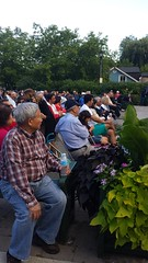Crowd at Sunday Nights at the Bandstand (Unionville BIA) Tags: street music canada concert live main crowd millennium bandstand sundays markham unionville 48th highlanders