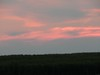 Bright pink clouds after sunset (pipsqueak9126) Tags: sunset nature clouds landscapes colored cornfields brightly countrylandscapes