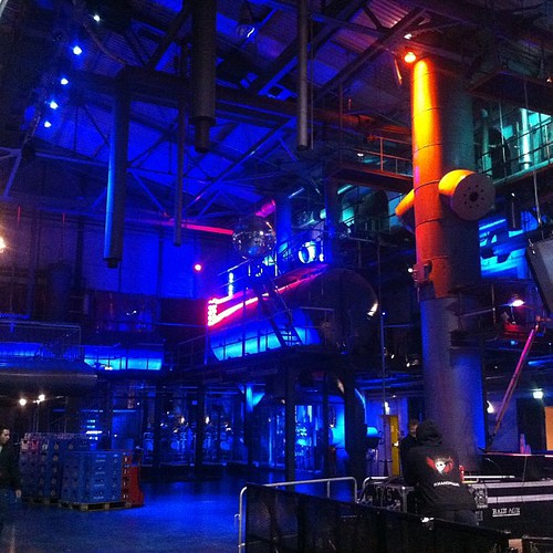 Tonight's venue in Munich. #axischemical