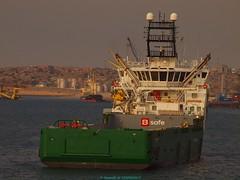 B Safe on board Bourbon Calm (Gwenolé de KERMENGUY) Tags: de marin artiste gwenole kermenguy