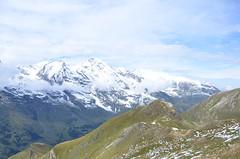 View from the Grossglockner High Alpine Road (DennisGRILLT) Tags: road mountain mountains alps berg high september berge alpine alpen blau audi wetter s7 grossglockner sportback