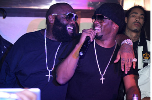 Video Diddy looses a Million Dollars to Rick Ross in a dice game