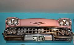 1958 Chevrolet (coconv) Tags: pictures auto old classic cars chevrolet car wall vintage photo automobile image photos antique air picture images vehicles photographs chevy photograph 1958 vehicle hanging autos collectible collectors impala bel automobiles 58 blart