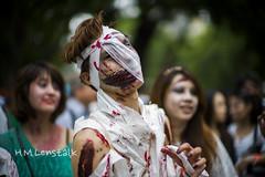 L1145450 (H.M.Lentalk) Tags: life street leica city people 50mm bokeh oz zombie walk sydney australian australia walker noctilux aussie 50 asph m9 f095 095 noctiluxm 109550