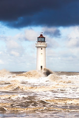 New Brighton Lighthouse (juliereynoldsphotography) Tags: lighthouse waves storms newbrighton juliereynoldsphotography