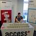 'Our developer Nathan Czachur getting setup on day 2' by Access Advertising