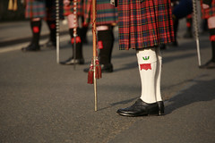 Flashes by 3,6,9 seconds of Light (3,6,9 Seconds of light) Tags: socks scotland kilt scottish remembrance tartan pipeband flashes