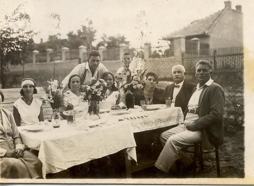 Family gathering,  around 1926