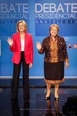Debate Presidencial Anatel 2013 (Mario Téllez C.) Tags: bachelet evelyn michelle debate presidencial matthei candidatas anatel 2013