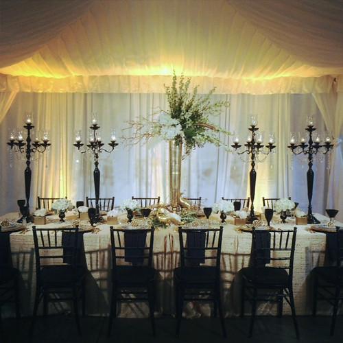 New Year's Eve Wedding Table — HotHouse Design Studio in Birmingham, AL