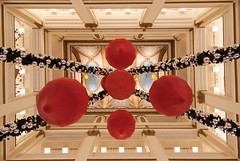Angie McMonigal Photography-9089-Edit (Angie McMonigal) Tags: christmas shopping holidays macys marshallfields tiffanydome architecturechicago