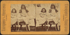 Wash day (Boston Public Library) Tags: children laundry bostonpubliclibrary bpl stereographs photographicprints portraitphotographs ironspressing