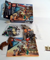 The Lego Movie set #1 (gravescout) Tags: fun toy cowboy lego western minifigure emmet legomovie getawayglider