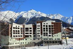 Mountain Olympic Village (Sochi 2014 Winter Games) Tags: mountains olympic olympicgames sochi venues paralympic  olympicvenues paralympicgames  sochi2014 2014  rosakhutor