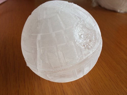 Yes, my ice cube IS a Death Star