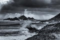 Wind and waves (steff808) Tags: blackandwhite bw france blancoynegro nikon noiretblanc corse corsica tormenta tempest ajaccio francia biancoenero corcega tempête ilessanguinaires nikond600 nikon2485 bloodyislands islassanguinarias