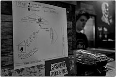 Honest Abe's, January 04, 2014 (Maggie Osterberg) Tags: bw restaurant blackwhite nebraska statues hamburgers lincoln gr ricoh abrahamlincoln maggieo silverefexpro2 183mmf28 honestabesburgers