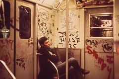 Graffiti In The NY Subways of the 70s & 80s (billy craven) Tags: newyork graffiti nycgraffiti vintagegraffiti subwaygraffiti
