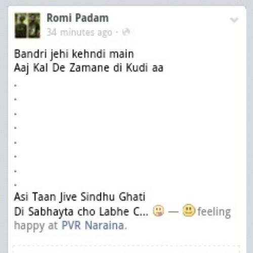 Punjabi Status In Punjabi Font