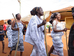'Happy' Ghanaian Funeral (ignore it...) Tags: africa ghana  ghanian  frica  blackafrica africanlife africanstyle realafrica ghanianpeople ghanapower