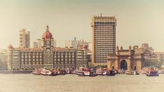 Gateway to India II (pantha29) Tags: india boats mumbai zuiko thetaj gatewaytoindia olymups xz1
