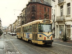 7813-077030 (VDKphotos) Tags: belgium bruxelles tram bn pcc stib mivb l90 t7700 livre54